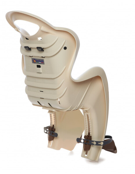 Bellelli Mr Fox Standard B-Fix scaun bicicleta pentru copii pana la 22kg - Silver