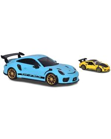 Masina Majorette Porsche 911 GT3 RS Carry Case cu masina Porsche 911 GT RS