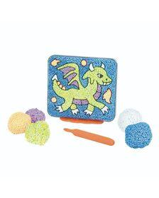 Spuma de modelat Playfoam™ - Coloram dragonul
