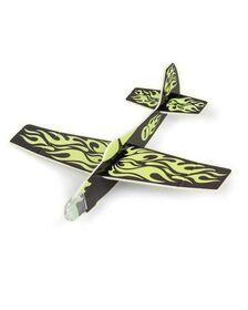 Avion planor reflectorizant